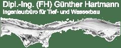 Dipl.-Ing. (FH) Günther Hartmann – Ingenieurbüro für Tief- und Wasserbau Retina Logo